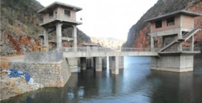 云南厅子塘水电站枢纽工程