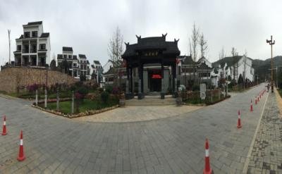 福泉市古城文化景区米乐手机登录平越驿站工程