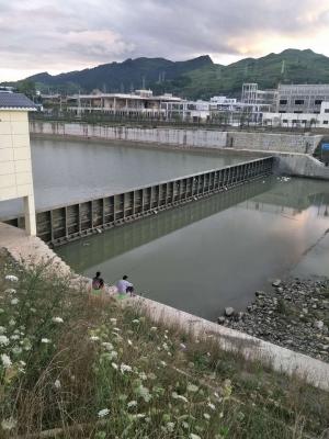 贵州贵定东门河翻板坝工程