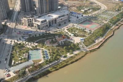 都匀市观澜片区剑江滨水景观项目